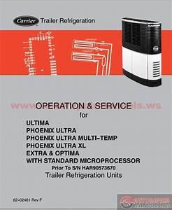 Carrier Trailer Refrigeration Operation  U0026 Service Manual