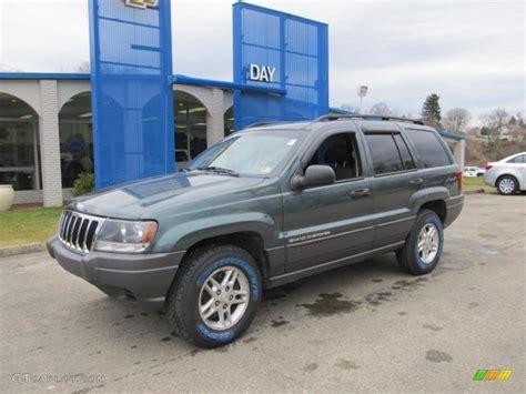 2002 onyx green pearlcoat jeep grand laredo 4x4 61908001 gtcarlot car color