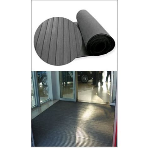 broad ribbed rubber matting rolls for outdoor use