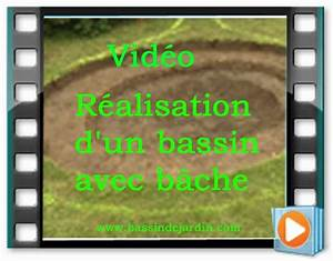 faire son bassin de jardin avec bache en video With wonderful amenagement jardin avec bassin 1 installer un bassin de jardin preforme youtube