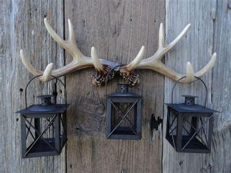 ideas  decorar  cuernos de ciervo decorar hogar