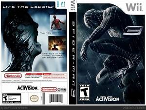 Spider-Man 3 Wii Box Art Cover by Darthspazz