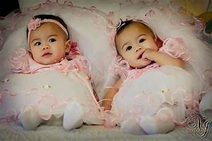 Flower Girl Dresses - cute baby twin girls and their ...