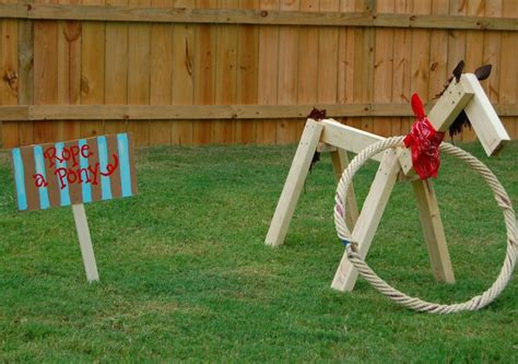 Rope A Pony--what A Great Party Game!