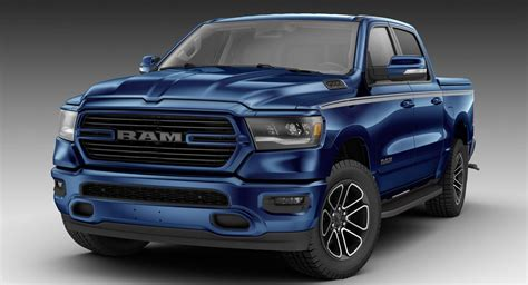 2019 Dodge Ram by 2019 Ram 1500 Looks All Mopar D Out In Patriot Blue