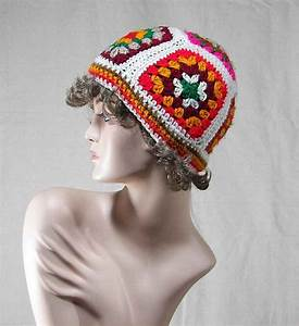 Granny Square Crocheted Hat Patterns  U2013 Easy Crochet Patterns