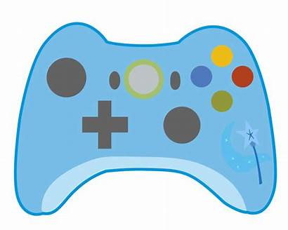 Controller Xbox Cartoon Animated Clipart Transparent Silhouette