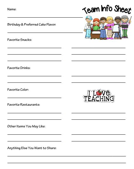 Free Halloween Potluck Sign Up Sheet Templates by The Teaching Oasis August 2013