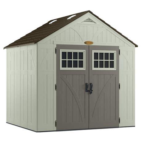 shop suncast tremont gable storage shed common 8 ft x 7