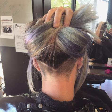 undercut  long hair  shape hair cut inspiration