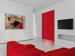 decoration dinterieur osez le rouge blog designity With decoration portes d interieur