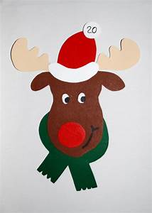 Elch Basteln Vorlage : basteln weihnachten kinderspiele ~ Lizthompson.info Haus und Dekorationen
