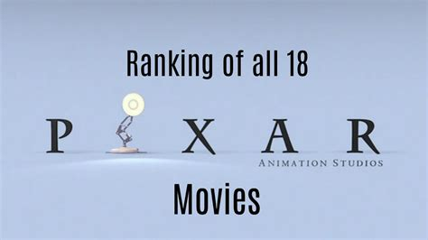 Ranking Of All 18 Pixar Movies Youtube