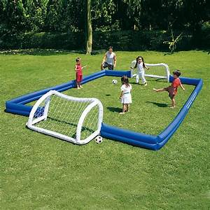 Cage Foot Enfant : terrain de football gonflable 620x366x71 achat vente mini cage de football cdiscount ~ Teatrodelosmanantiales.com Idées de Décoration