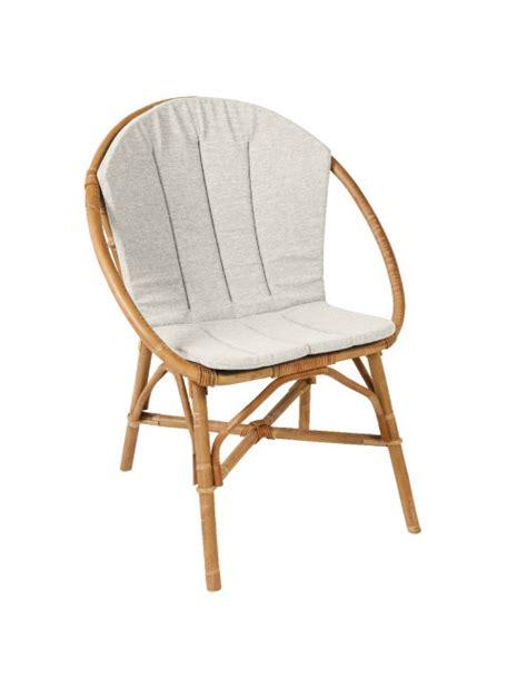 coussin pour fauteuil bruno fauteuil rotin kok