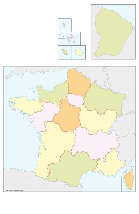 Actualité en france, info politique, news sur l'actualité économique française, reportages et débats en direct. Carte De France Vierge Nouvelles Régions - PrimaNYC.com