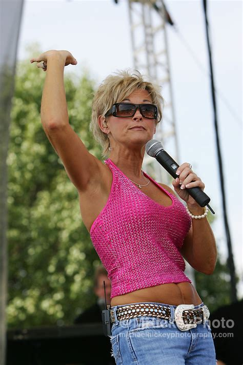 Lorrie Morgan performs at Allstate 400 | Michael Hickey ...