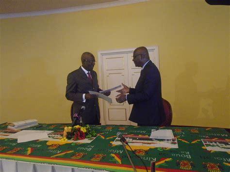 pr 233 sidence de la r 233 publique florent ntsiba re 231 oit le rapport de l ex maison militaire congo