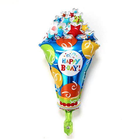 mytex happy birthday ice cream mini foil balloon pcs