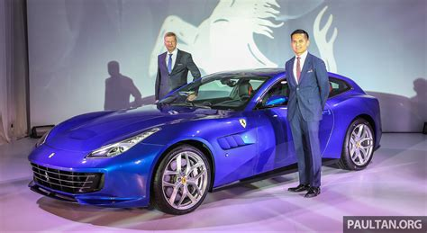 New Gtc4lusso T by Gtc4lusso T Unveiled In Malaysia Pricing For V8