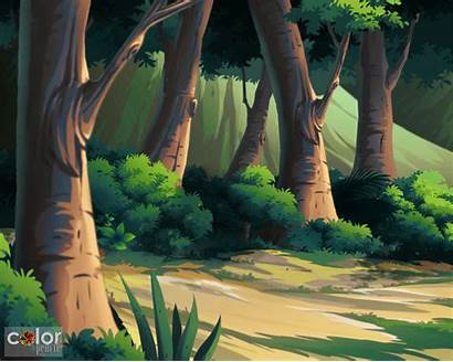 2d Animation Background 3d Bg Pencil
