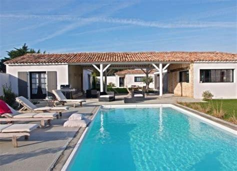 location bureau ile de location villa avec piscine sur l 39 ile de ré lagon