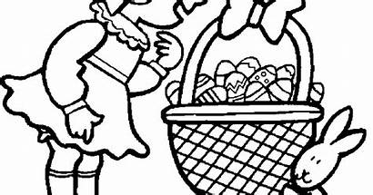 Coloring Pages Printable Easter Religious Desktop Wallpapers