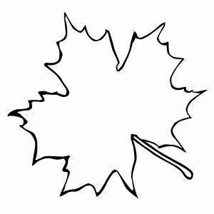 Simple Leaf Template - ClipArt Best