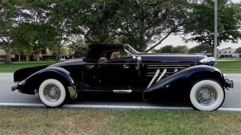 1936 Auburn Boat Tail Speedster Replica Movie Star
