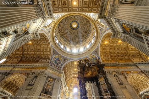Cupola Michelangelo by La Cupola Di Michelangelo Vista Dall Interno Di San Pietro