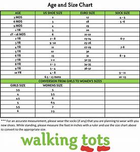 Size Chart Shoe Size Chart Kids Baby Clothes Sizes