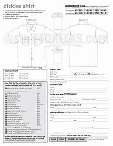 t shirt order form template pdf fillable printable With embroidery order form template free