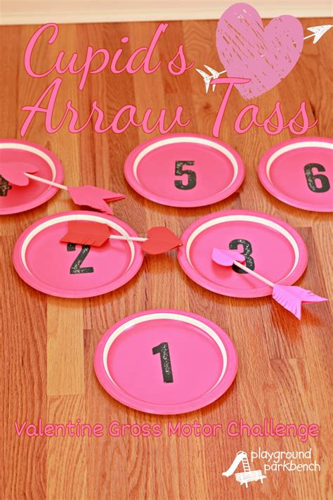 conversation hearts bingo 803 | Valentines Day Game Cupids Arrow Toss