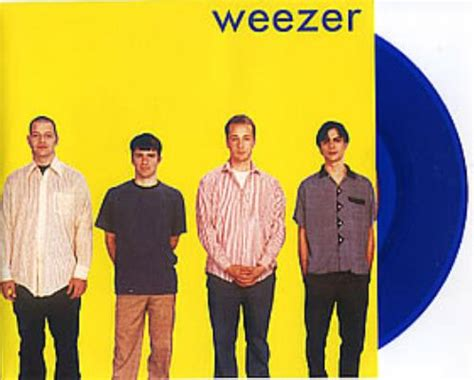 weezer sweater song weezer undone the sweater song blue vinyl promo