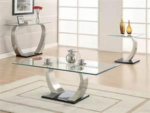 Designer Moderne Couchtische : effektvolle couchtische aus glas ~ Frokenaadalensverden.com Haus und Dekorationen