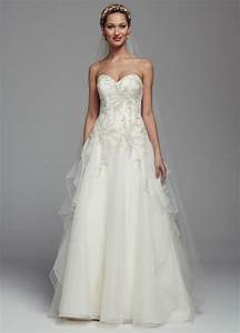 david39s bridal strapless beaded organza ball gown wedding With wedding gown preservation davids bridal