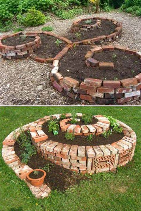 bricks for garden diy ideas for creating cool garden or yard brick projects