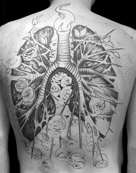 40 Lung Tattoo Designs For Men - Organ Ink Ideas