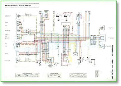 Kawasaki Bayou 250 Wiring Harnes by Z250service