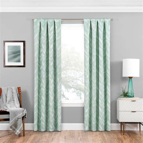 mint curtain panels eclipse blackout 63 in l mint rod pocket curtain