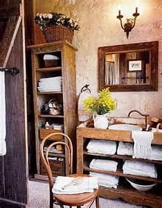 muebles de ba 241 o rusticos fotos espaciohogar