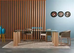 Esstisch Glas Holz Design : ausziehbarer esstisch aus holz begeistert mit schlichter optik ~ Bigdaddyawards.com Haus und Dekorationen