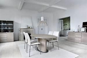 meuble salle a manger 32 idees magnifiques pour maison With meuble de salle a manger avec table ronde bois massif