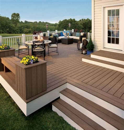 trex deck designs pictures trex decking prices choosing the most appropriate deck