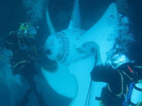 Boat Propeller Underwater underwater propeller repair fn diving