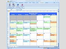 Import Google Calendar into Excel and Word