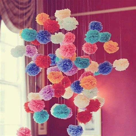 paper wedding decorations tissue paper pom poms wedding