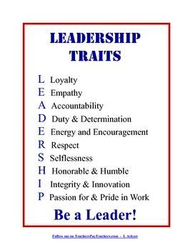 Quotes About Good Leadership Qualities