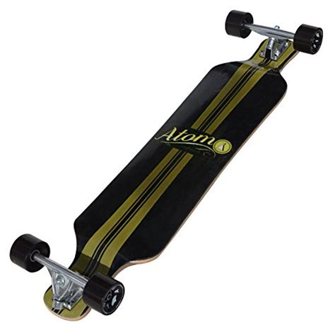 Atom Drop Deck Longboard by Atom Drop Deck Longboard 39 Inch New