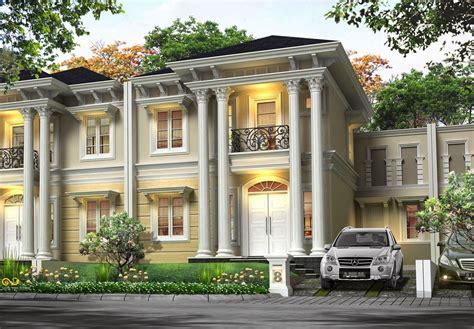 desain rumah klasik modern 2 lantai terbaru 2016 home